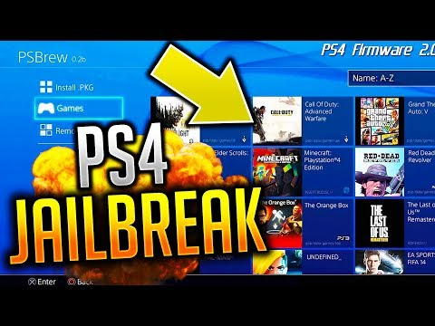 PS4 JAILBROKEN! WTF WATCH! (Call of Duty Mods)::