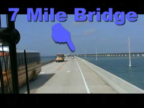 Key West Bus Ride From Miami, Florida