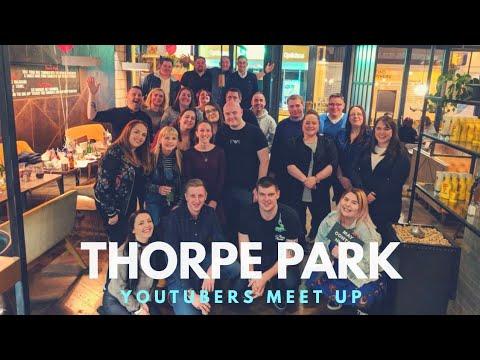 Thorpe Park Disney YouTube meet up | April 2018