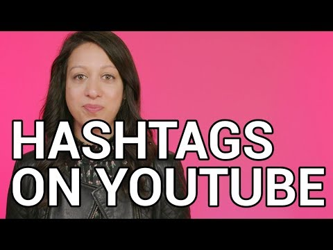 Hashtags on #YouTube