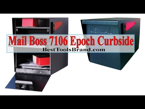 Mail Boss 7106 Epoch Curbside Locking Mailbox
