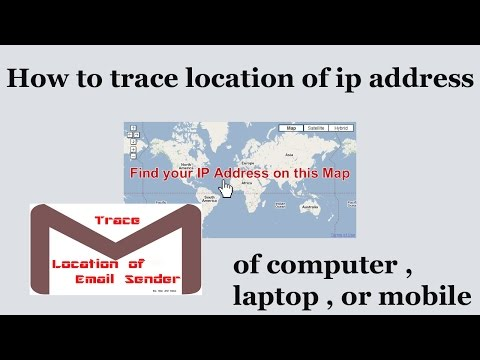 How to Trace Location of IP Address of Computer , Laptop , or Mobile