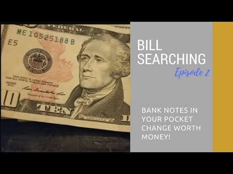 Searching Pocket Change for Rare Serial Numbers and Bank Notes