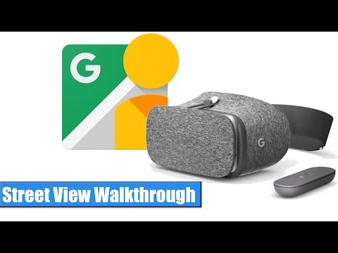 Google Daydream VR: Street View Walkthrough / Hands-On