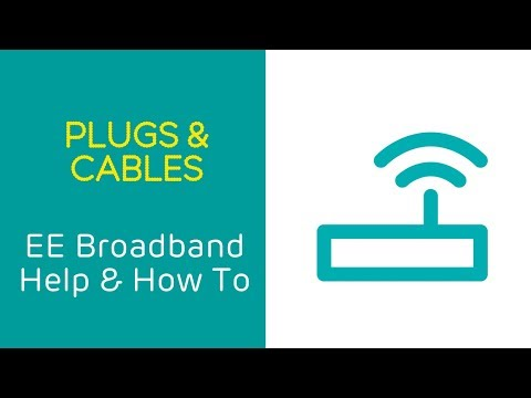 EE Home Broadband Help & How To: Plugs and Cables