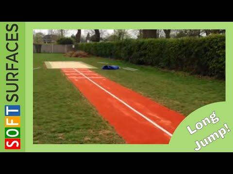 Long Jump Runway Construction In Berkshire
