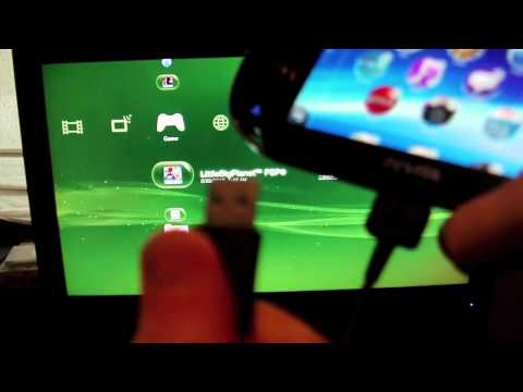 How to Transfer PSP Games to PS Vita Using PS3