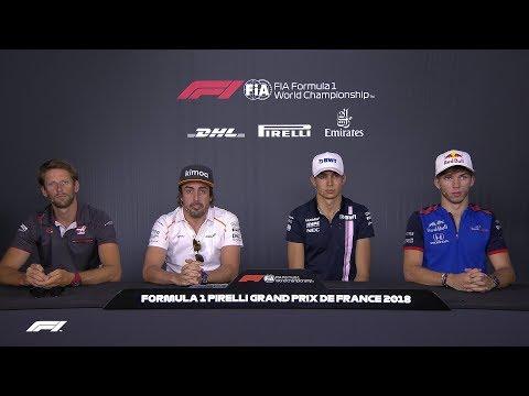 2018 French Grand Prix: Pre-Race Press Conference