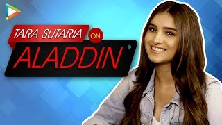 Download Tara Sutaria On Why She Couldn't Be Aladdin's Jasmine? Video