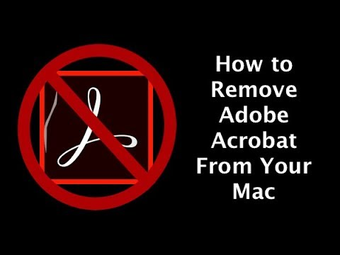 How to remove Adobe Acrobat from Mac
