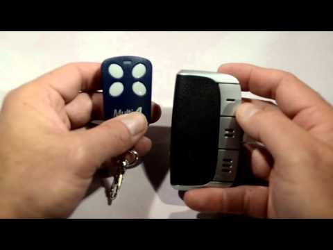 Universal remote gate and garage door opener programming