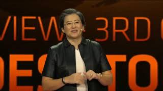 AMD Ryzen 3000 announced in CES 2019, Benchmarked on Cinebench