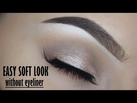 Easy soft eyelook using NO EYELINER - Morphe 35O palette