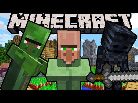 "Minecraft 1.11 Snapshot: Green Villagers Return! MCPE Mod API Minecon News, Zombie Villager ""Nitwit"""