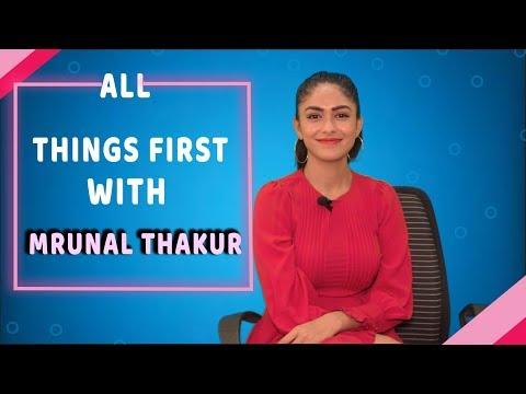 Xxx Mp4 Mrunal Thakur Reveals All Her Firsts Exclusive POP Diaries 3gp Sex