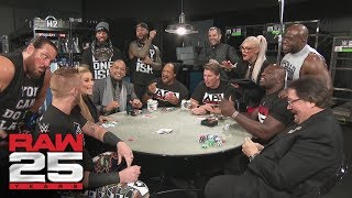 The APA host a poker game: Raw 25, Jan. 22, 2018