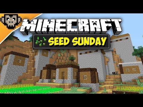 Minecraft 1.12.2 | Taiga Village Spawn-ish | Seed Sunday - Ep247