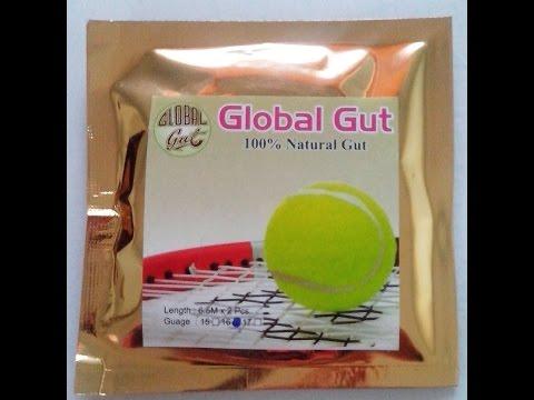 Global Gut Natural Gut Tennis Strings  www.globalgut.co.in