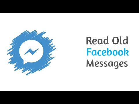 How to see old Facebook messages on Android