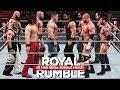 WWE 2K18 Royal Rumble 2018 Match Highlights 30 Man Rumble