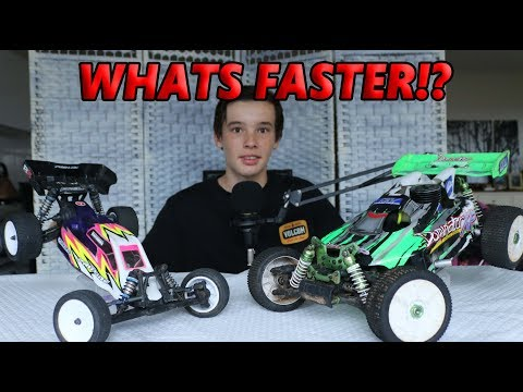 NITRO VS ELECTRIC RC CARS!