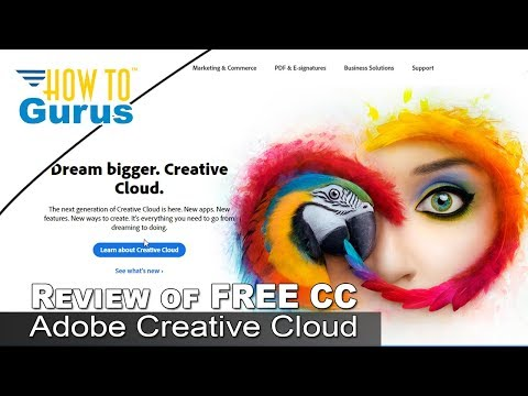My Review of Adobe Creative Cloud Free Features and Apps - Weekly Video Blog