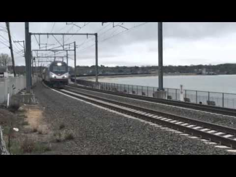 Amtrak Connecticut to New York.