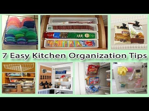 7 Easy Kitchen Organization Tips