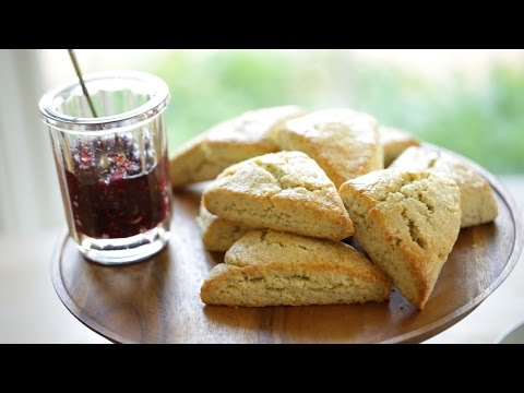 Beth's Lemon Poppy Seed Scone Recipe   ENTERTAINING WITH BETH