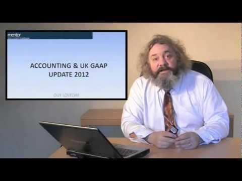 Accounting & UK GAAP Update 2012