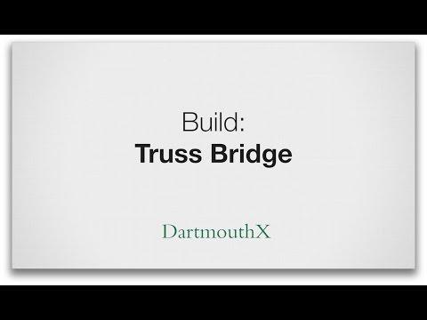 How to build a truss bridge