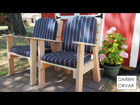 DIY Lawn Chairs - Darbin Orvar