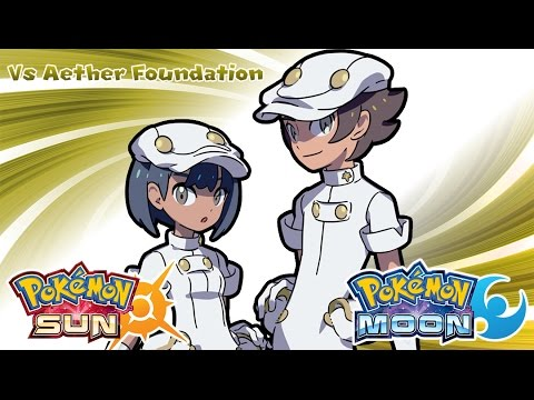 Pokemon Sun & Moon - Aether Foundation Employee Battle Music (HQ)
