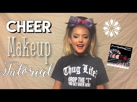 Cheer Athletics Unofficial Makeup Tutorial