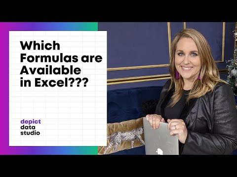 How to Find Out Which Formulas are Available in Excel