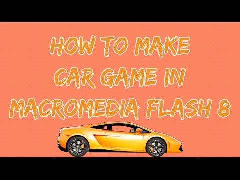 How to make a car game in Flash 8