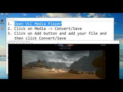 How to extract sound/audio from video(VLC)