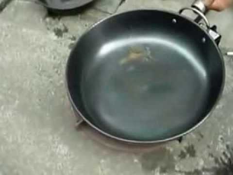How To Restore Rusted Non Sticky Frying Pan