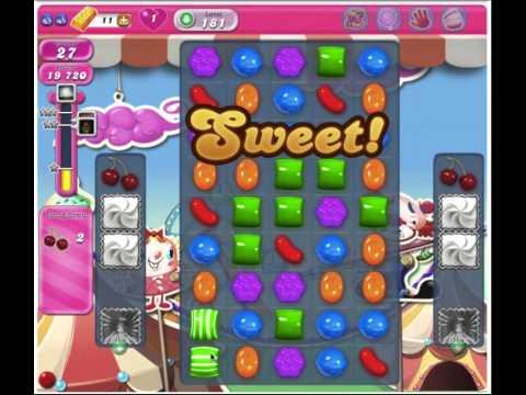 Candy Crush Saga Level 181 - 3 Stars No Boosters