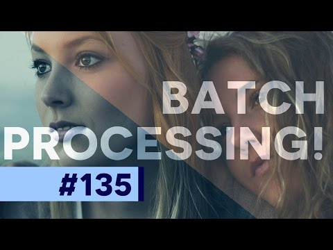 Batches in Photoshop: Automate Batch Processes
