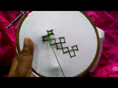 5.Sindhi embroidery ,sindhi tanka,kutch work,gujrati stitch. sindhi embroidery for beginners.