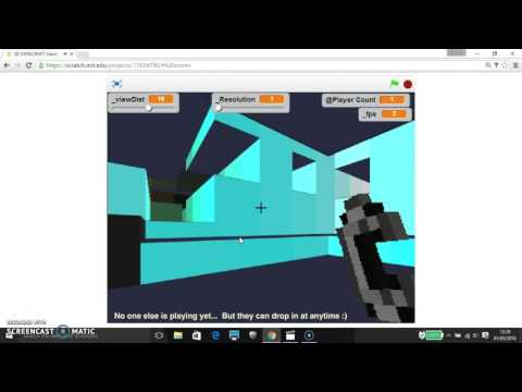 seeing 3d multiplayer games on scratch