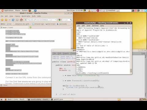 How to Read HTML from a URL in Java