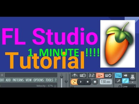 FL Studio 1 Minute: Snap Function and Time Signatures
