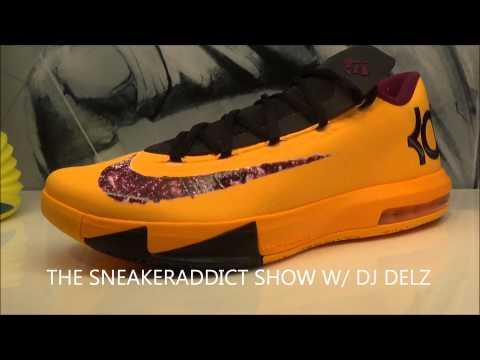 Nike KD 6 VI Peanut Butter & Jelly Sneaker Revew W/ @DjDelz #HotOrNot