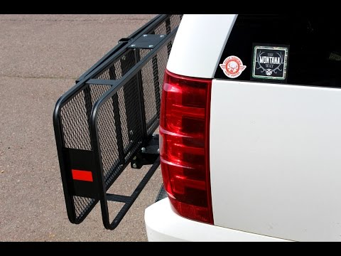 My new CURT Basket-Style Cargo Carrier - Model #18151