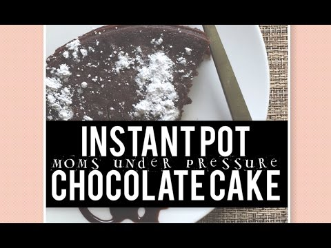 Instant Pot - Chocolate Cake