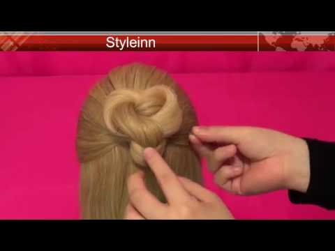 Celtic Knot Braid Hairstyle | Celtic Heart Knot | Easy hairstyle tutorial