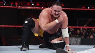 WWE Releases  Samoa Joe 2018 Official Statement & Update
