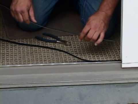 How to fix a sliding door using a Sliding Door Repair Kit